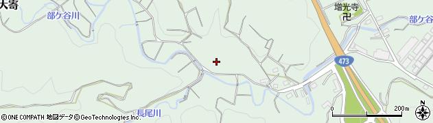 静岡県牧之原市大寄部ケ谷周辺の地図