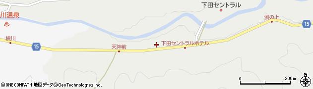 静岡県下田市相玉周辺の地図