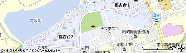 兵庫県神戸市西区福吉台周辺の地図