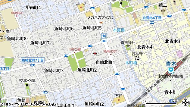 〒658-0082 兵庫県神戸市東灘区魚崎北町の地図