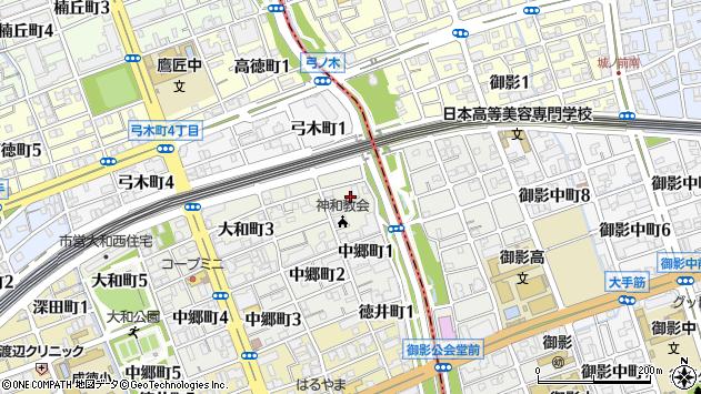 〒657-0031 兵庫県神戸市灘区大和町の地図