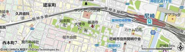 善通寺周辺の地図