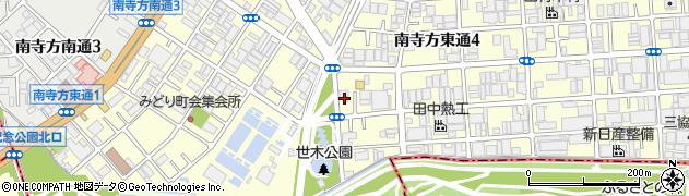 緑地周辺の地図