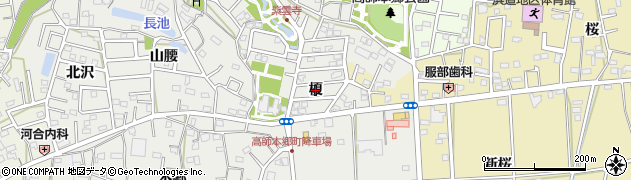 愛知県豊橋市高師本郷町(榎)周辺の地図