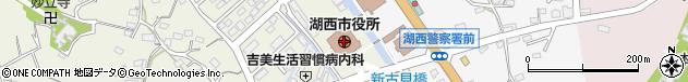 静岡県湖西市周辺の地図