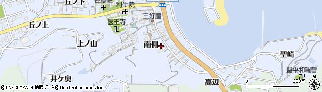 愛知県南知多町(知多郡)大井(南側)周辺の地図
