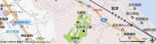 長勝院周辺の地図