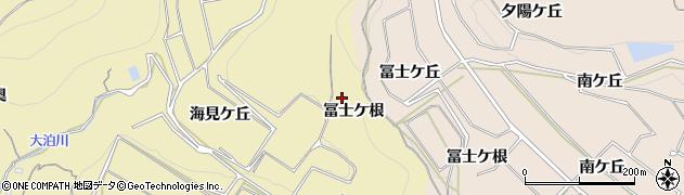 愛知県南知多町(知多郡)山海(冨士ケ根)周辺の地図