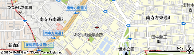 大阪府守口市南寺方東通周辺の地図