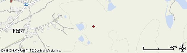 岡山県岡山市北区下足守周辺の地図