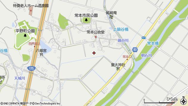 〒651-2263 兵庫県神戸市西区平野町常本の地図