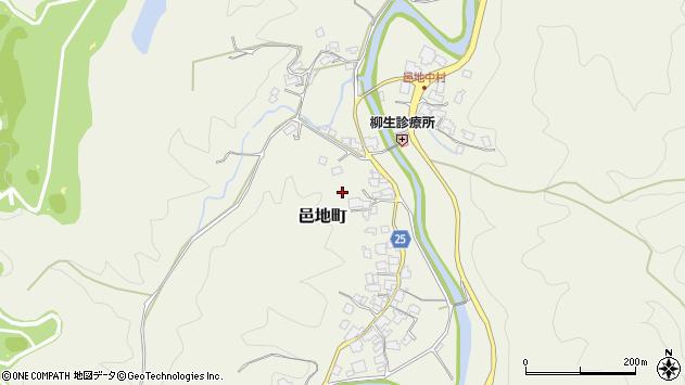 〒630-1233 奈良県奈良市邑地町の地図