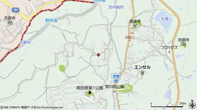 〒630-0135 奈良県生駒市南田原町の地図