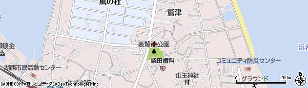風ノ宮神社周辺の地図