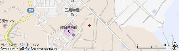 愛知県南知多町(知多郡)豊浜(須佐ケ丘)周辺の地図