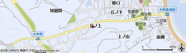 愛知県南知多町(知多郡)大井(丘ノ上)周辺の地図