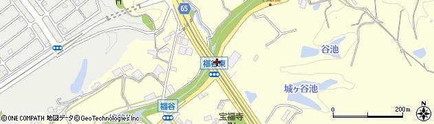福谷東周辺の地図
