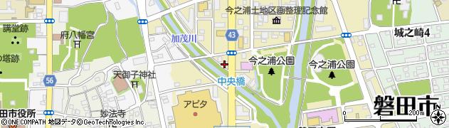 ライフデリ 磐田袋井店周辺の地図
