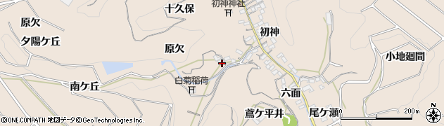 愛知県南知多町(知多郡)豊浜(原欠)周辺の地図