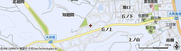愛知県南知多町(知多郡)大井(西園)周辺の地図