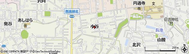 愛知県豊橋市西高師町(小谷)周辺の地図