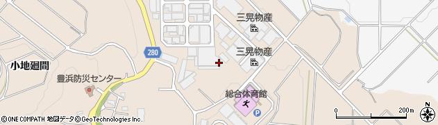 愛知県南知多町(知多郡)豊浜(椿廻間)周辺の地図