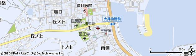 愛知県南知多町(知多郡)大井(真向)周辺の地図