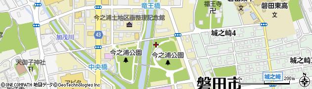 静岡県磐田市今之浦周辺の地図