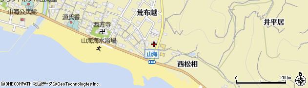 愛知県南知多町(知多郡)山海(松生)周辺の地図
