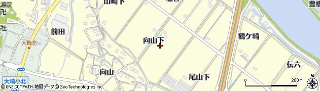 愛知県豊橋市船渡町周辺の地図