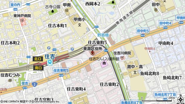 〒658-0000 兵庫県神戸市東灘区(以下に掲載がない場合)の地図