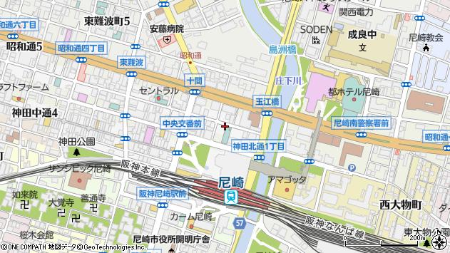 〒660-0882 兵庫県尼崎市昭和南通の地図