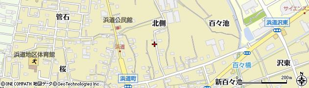 愛知県豊橋市浜道町周辺の地図