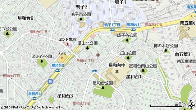 〒651-1121 兵庫県神戸市北区星和台の地図