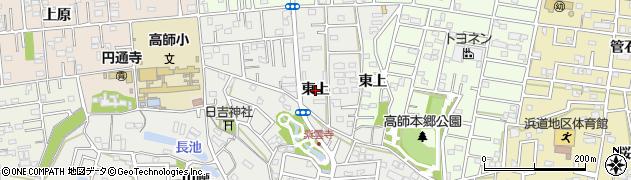愛知県豊橋市高師本郷町(東上)周辺の地図