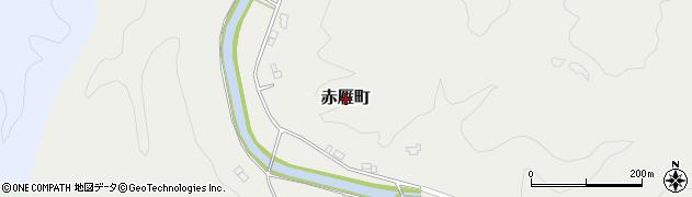 島根県益田市赤雁町周辺の地図