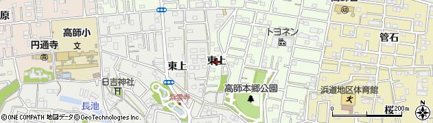 愛知県豊橋市三本木町(東上)周辺の地図