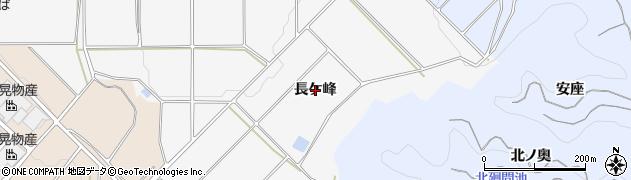 愛知県南知多町(知多郡)豊丘(長ケ峰)周辺の地図