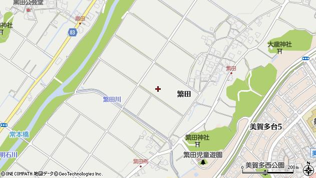 〒651-2262 兵庫県神戸市西区平野町繁田の地図