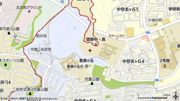 〒631-0008 奈良県奈良市二名町の地図