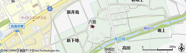 株式会社丸八製菓周辺の地図