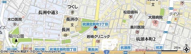 杭瀬北新町3周辺の地図