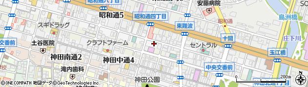 兵庫県尼崎市昭和南通周辺の地図