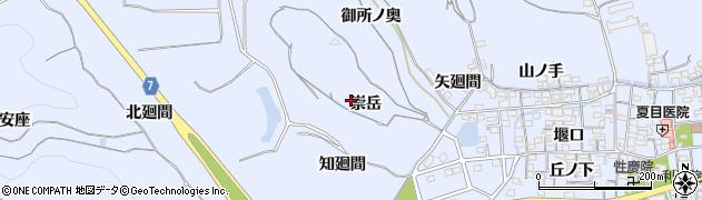 愛知県南知多町(知多郡)大井(崇岳)周辺の地図