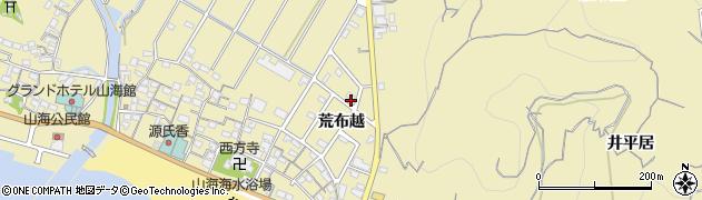 愛知県南知多町(知多郡)山海(荒布越)周辺の地図