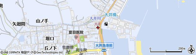 もぐもぐ周辺の地図