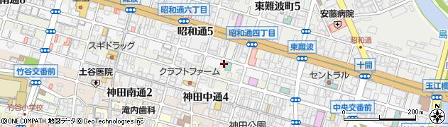 兵庫県尼崎市昭和南通5丁目周辺の地図