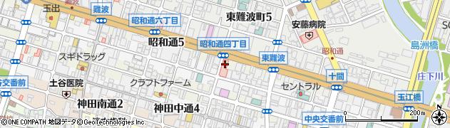 兵庫県尼崎市昭和通4丁目周辺の地図
