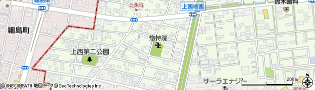 惣持院周辺の地図