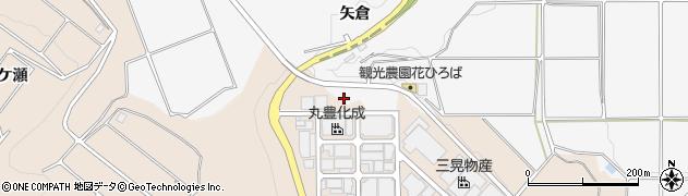 愛知県南知多町(知多郡)豊丘(矢倉)周辺の地図